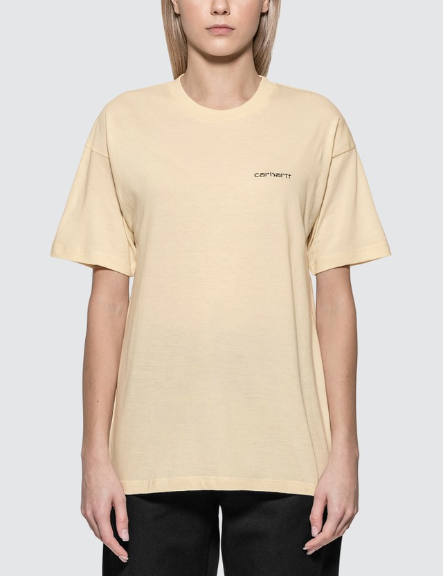 Carhartt Work In Progress Script Embroidery T-shirt