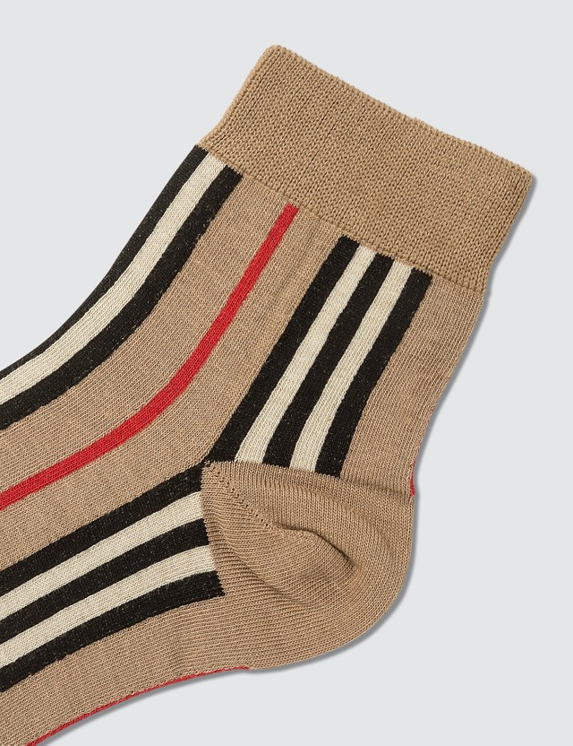 Burberry Icon Stripe Ankle Socks