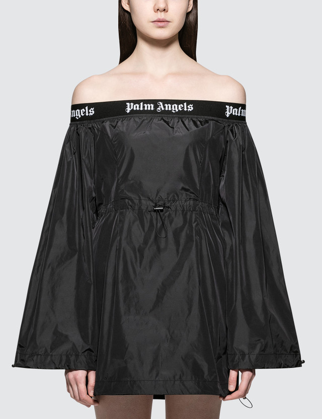 Palm Angels Ballon Dress