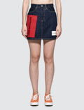 Calvin Klein Jeans Hr Mini Skirt Logo Picture