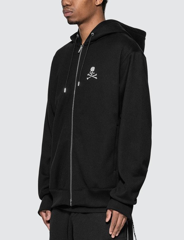 Mastermind World Glitter Skull Logo Full-Zip Hoodie Black Men