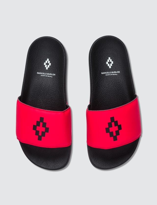 Marcelo Burlon Cross Slider