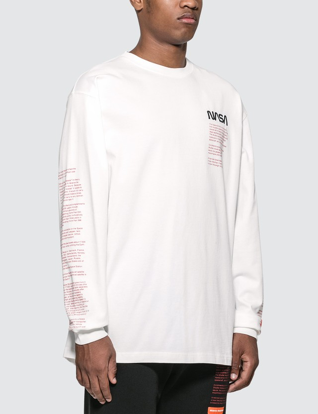 Heron Preston NASA Over Long Sleeve T-Shirt