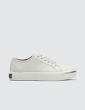 Alexander Wang Pia Low White Leather Sneakers Picture