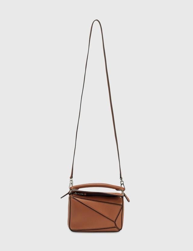 Loewe Mini Puzzle Bag Tan Women