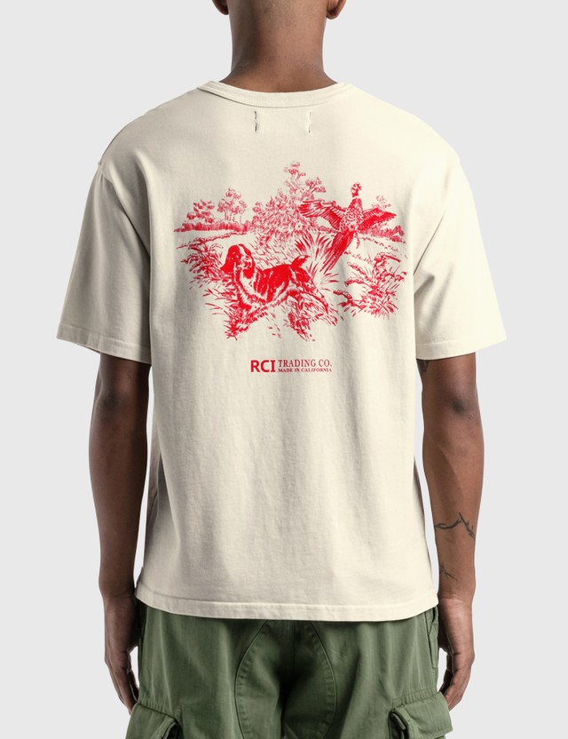 Reese Cooper Hunting Division T-Shirt White Men