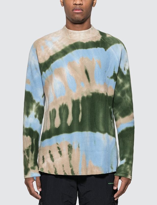 Sasquatchfabrix. Tye-dye Mockneck Waffle Sweatshirt