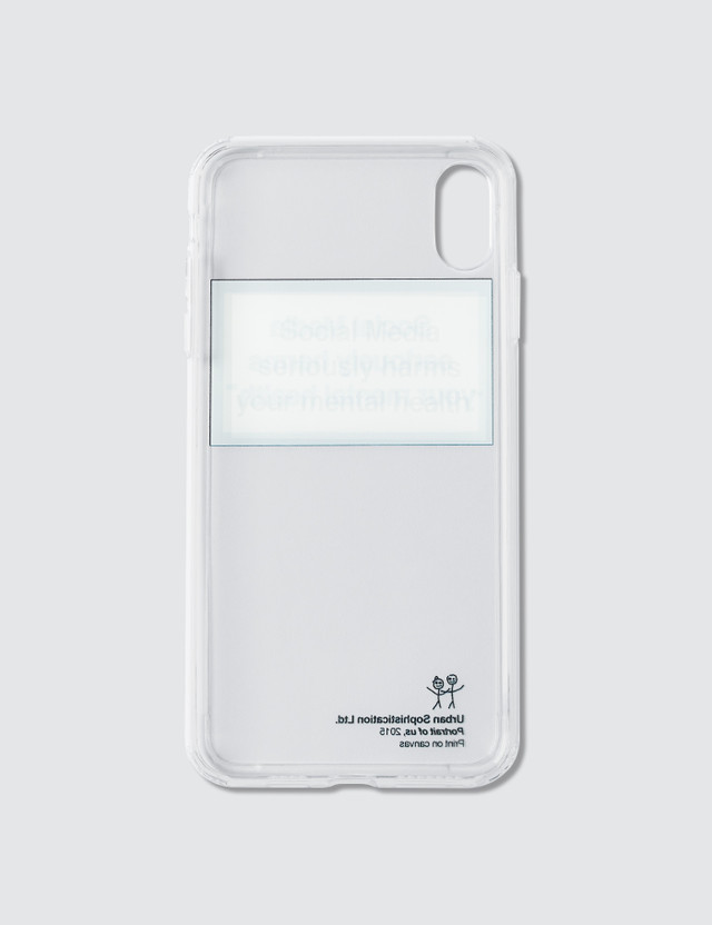 Urban Sophistication Mental Health Warning Iphone Cover