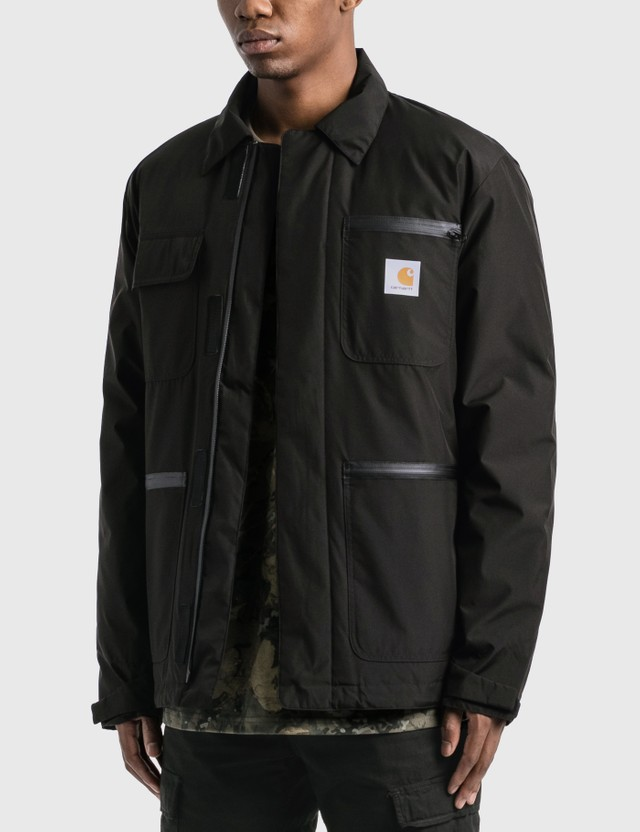 Carhartt Work In Progress Gore-Tex Michigan Coat Black Men