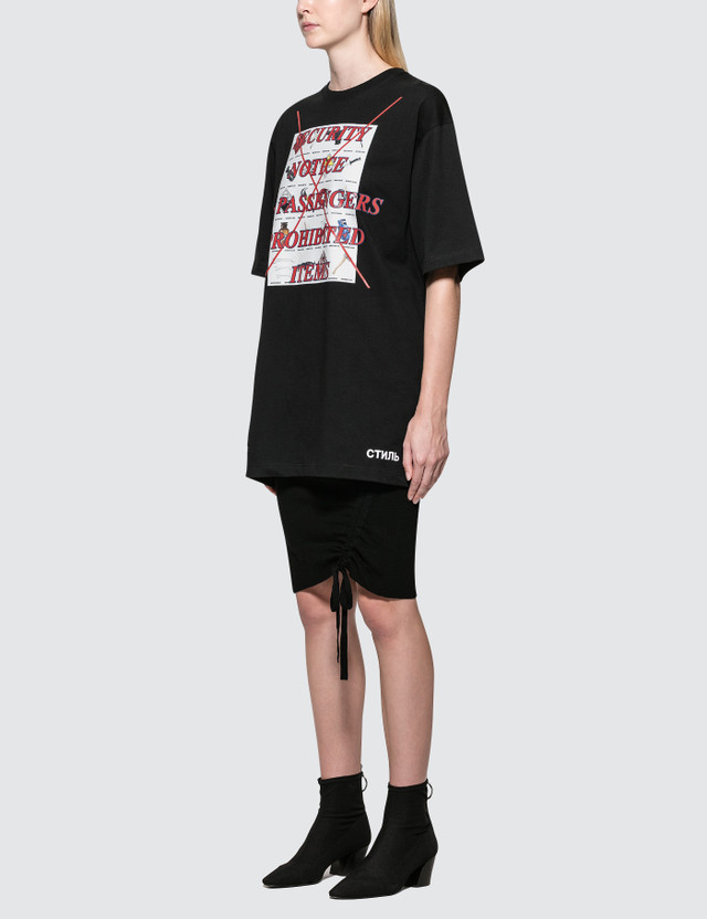 Heron Preston Prohibited Items T-Shirt