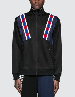 FACETASM | Facetasm Rib Football Track Jacket | Goxip