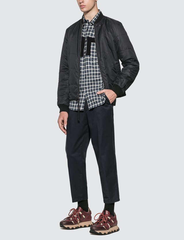Lanvin Reversible Quilted Teddy Jacket