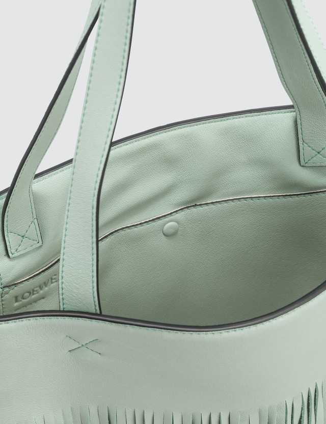 Loewe Vertical Tote Fringe Paula Bag