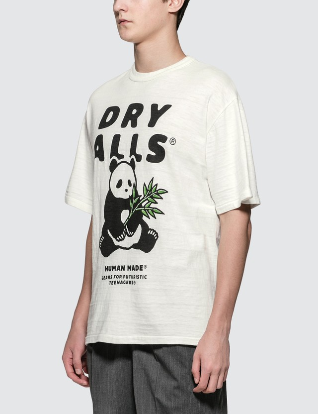 Human Made Panda Graphic Print S/S T-Shirt