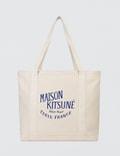 Maison Kitsune Shopping Bag Palais Royal Rubber Picture