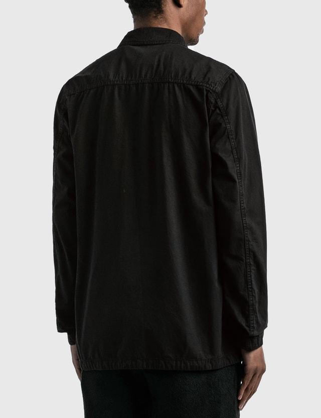 Stone Island Garment Dyed 3 Pockets Jacket Black  Men