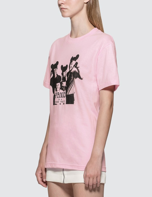 Pleasures Human Trait T-shirt Pink Women