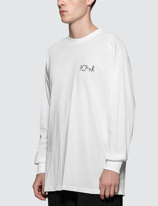 Polar Skate Co. Lambo Life Fill Logo L/S T-Shirt