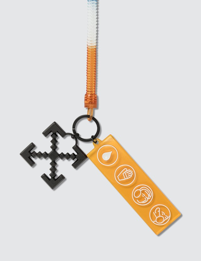 Off-White Industrial Y013 Bungee Key Ring