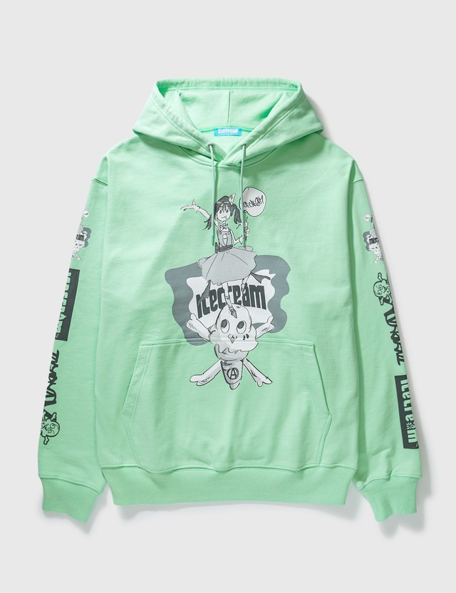 Icecream Icecream X Jun Inagawa Hoodie Lime Green Unisex