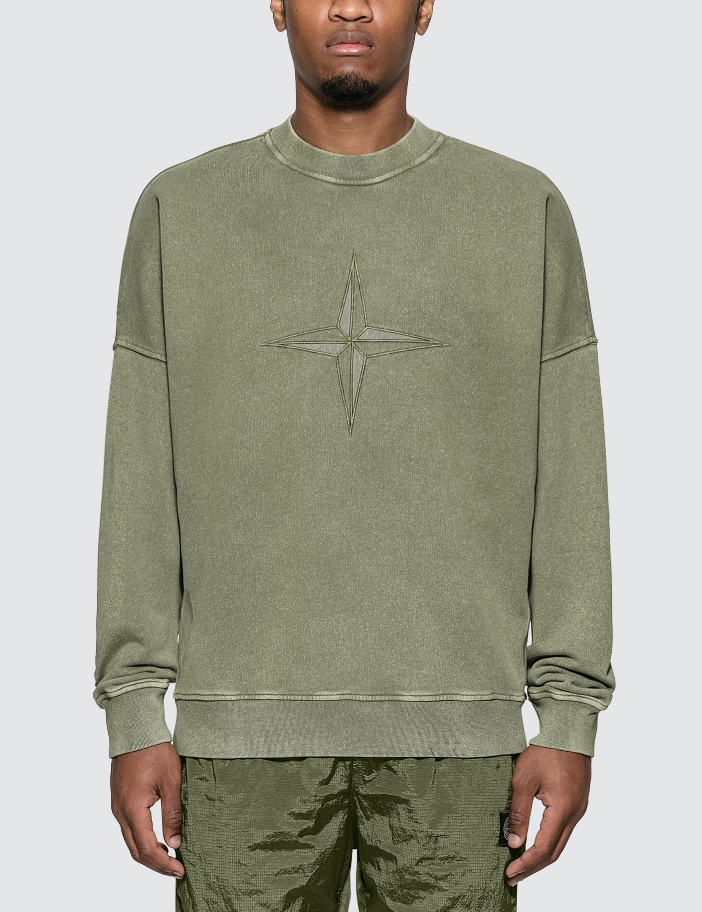 Compass Embroidered Sweatshirt