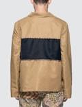 Paria Farzaneh Beige Piping Jacket Shirt Beige Men
