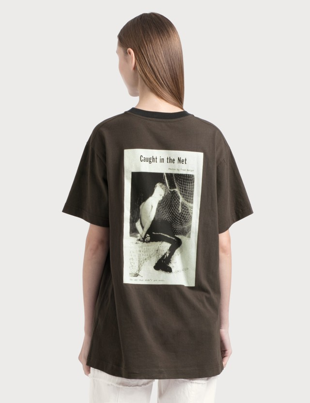 Acne Studios Erice Magazine T-shirt Faded Black Women