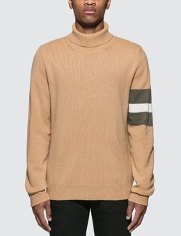 Maison Margiela Roll Neck Knitted Sweater