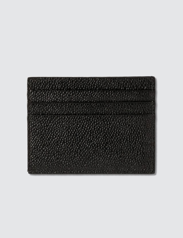 Thom Browne Pebble Grain Leather Card Holder