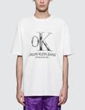 CALVIN KLEIN JEANS EST.1978 OK Logo Print S/S T-Shirt Picture
