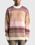 ERL Mohair-blend Striped Sweater 사진