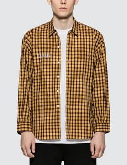 Monkey Time Pleasures Checkered Shirt