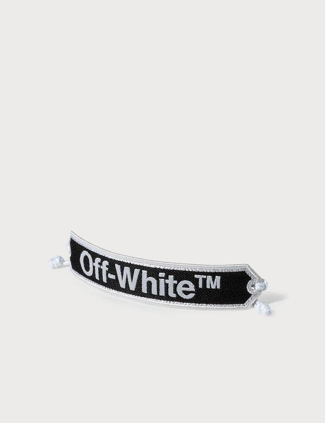 Off-White Macrame Bracelet