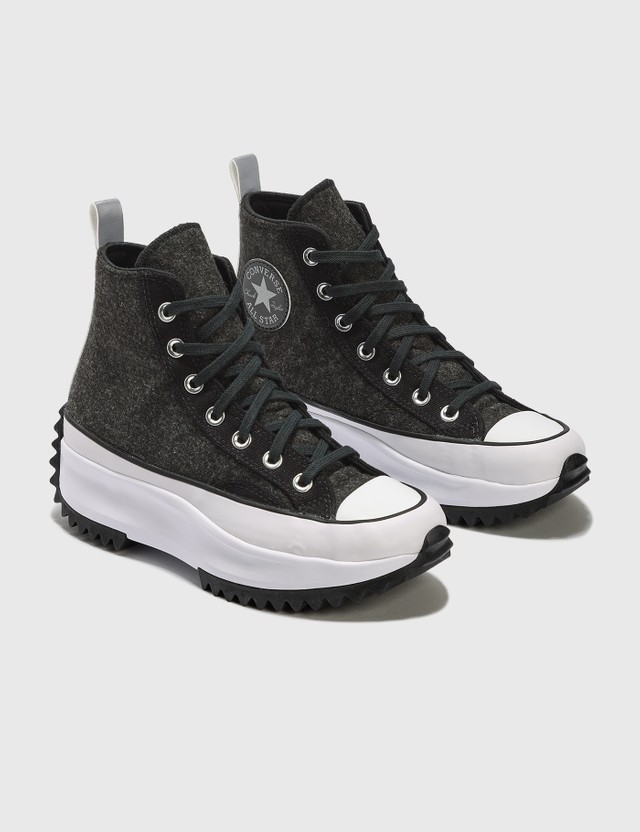 Converse Run Star Hike Black/silver/white Women