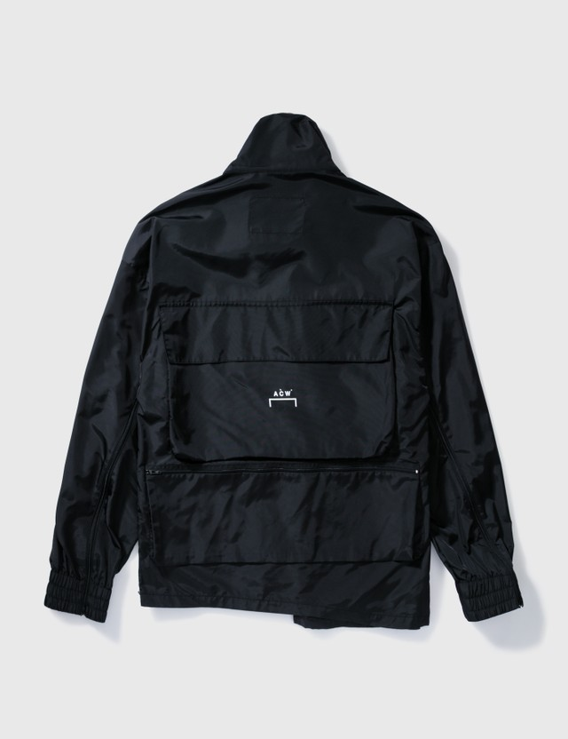 A-COLD-WALL* A-cold-wall* Multi Pockets Nylon Jacket Black Archives
