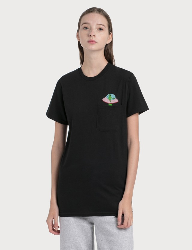RIPNDIP Abduction Pocket T-Shirt Black Women