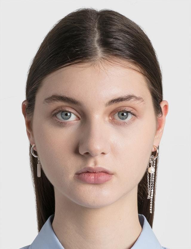 Justine Clenquet Chloe Earrings Silver Women