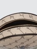 Stella McCartney Mini Round Monogram Bag