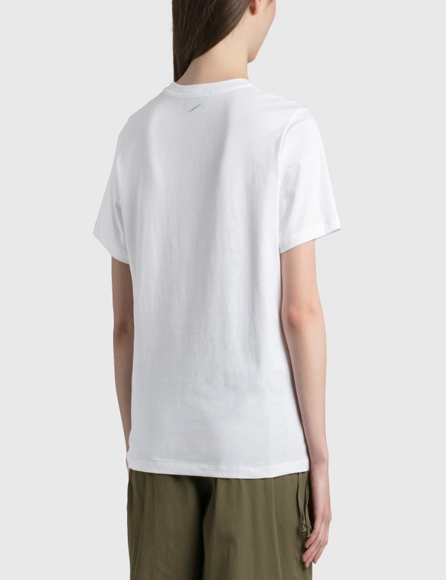 Coperni Coperni x Marc Hundley T-Shirt Optic White Optwht Women