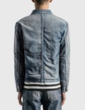 Saint Laurent 50s Denim Jacket Sun Dirty Blue Men