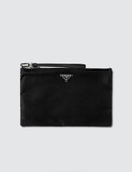Prada Nylon And Leather Medium Pouch Picture