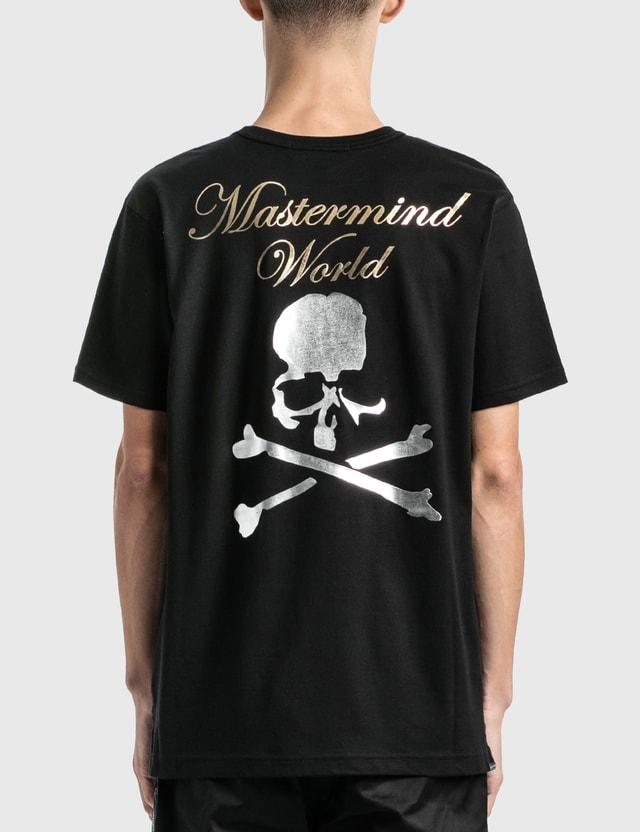 Mastermind World Cursive 로고 티셔츠 Black Men