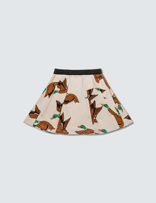Mini Rodini Ducks Aop Skirt