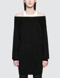 Alexander Wang Bi-layer Knit Dress With Inner Tank Picture