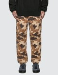 Stussy Camo Fleece Pants Picture