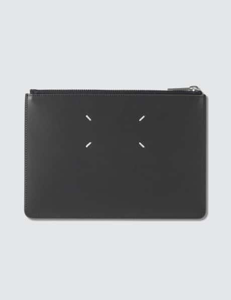 메종 마르지엘라 로고 파우치 Maison Margiela Rubber Leather Logo Pouch