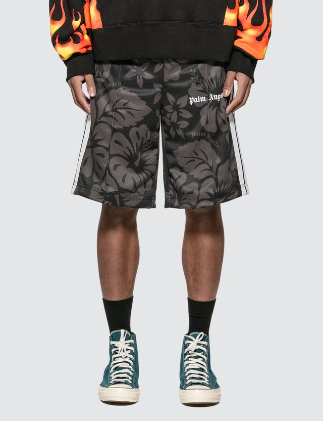 Palm Angels Hawaiian Track Shorts