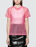 Helmut Lang Femme Nylon Little T-shirt Picture