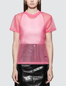 Helmut Lang Femme Nylon Little T-shirt