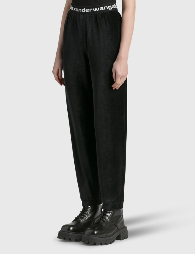 Alexander Wang.T Stretch Corduroy Pants Black Women